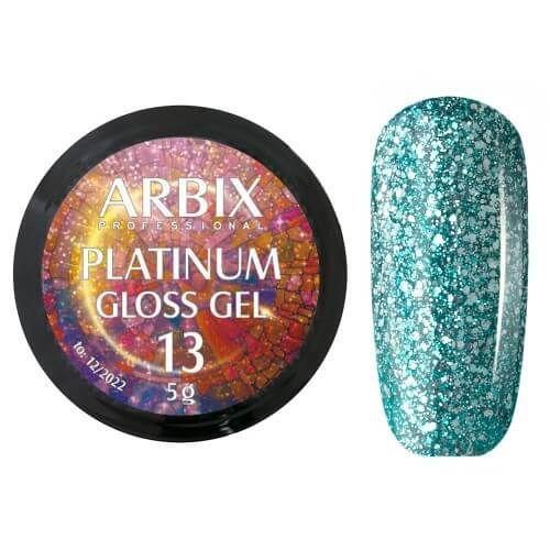 PLATINUM GLOSS GEL ARBIX 13 5 г