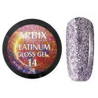PLATINUM GLOSS GEL ARBIX 14 5 г