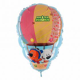 "Ми-ми-мишки на воздушном шаре, 28"" / 66*43 см"