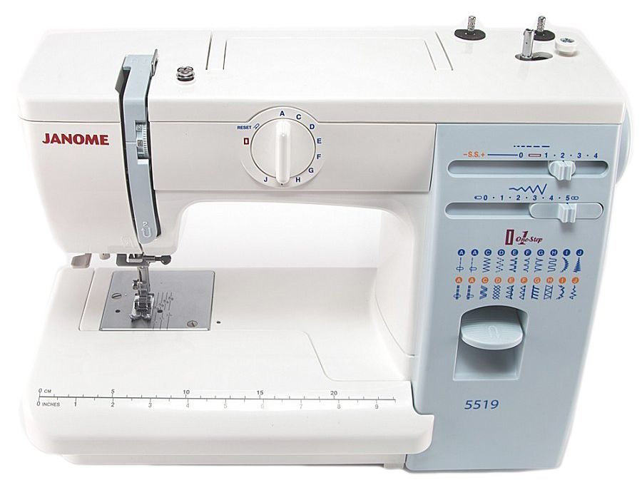 Швейная машина JANOME 5519    цена по акции -10%  18450 руб.