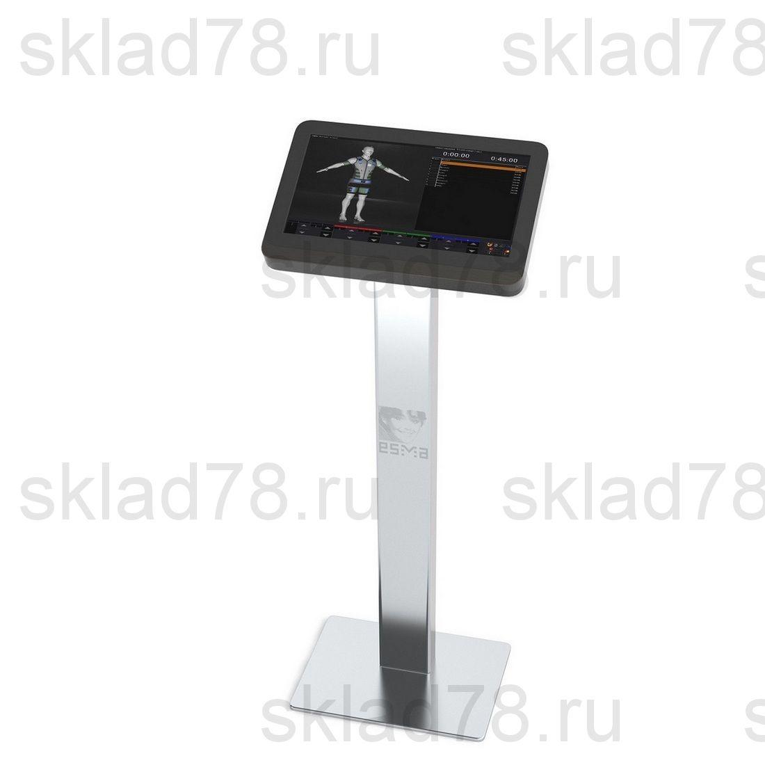 Миостимулятор ESMA 12.06.10 модель ФИТНЕС Steel на стальной стойке