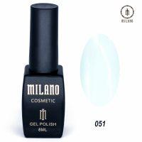 Гель-лак Milano Cosmetic №051, 8 мл
