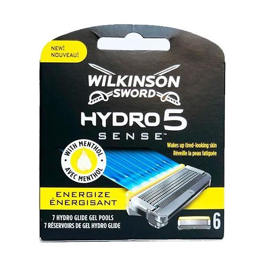 Schick / Wilkinson Sword Hydro5 SENSE сменные лезвия Energize (6 штук)