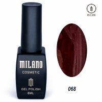 Гель-лак Milano Cosmetic №068, 8 мл