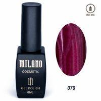 Гель-лак Milano Cosmetic №070, 8 мл