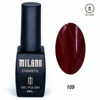 Гель-лак Milano Cosmetic №109, 8 мл