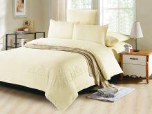 Комплект постельного белья Luxury modal  с вышивкой семейный Арт.41/009-ME