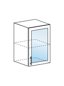 Шкаф верхний со стеклом Модена ШВС 500