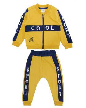 """Спортивный костюм для новорожденных Bonito """"Cool"""" горчичный"""