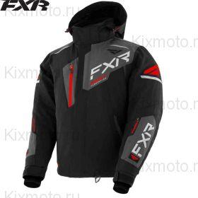 Куртка FXR Renegade FX, Черно-серо-красная