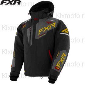 Куртка FXR Renegade FX, Черно-золотая