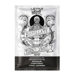 Спиртовые турбо дрожжи LEYKA WHITE, 90 гр