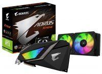 GIGABYTE GeForce RTX 2080 Ti 1770MHz PCI-E 3.0 11264MB 14140MHz 352 bit 3xHDMI HDCP AORUS XTREME WATERFORCE