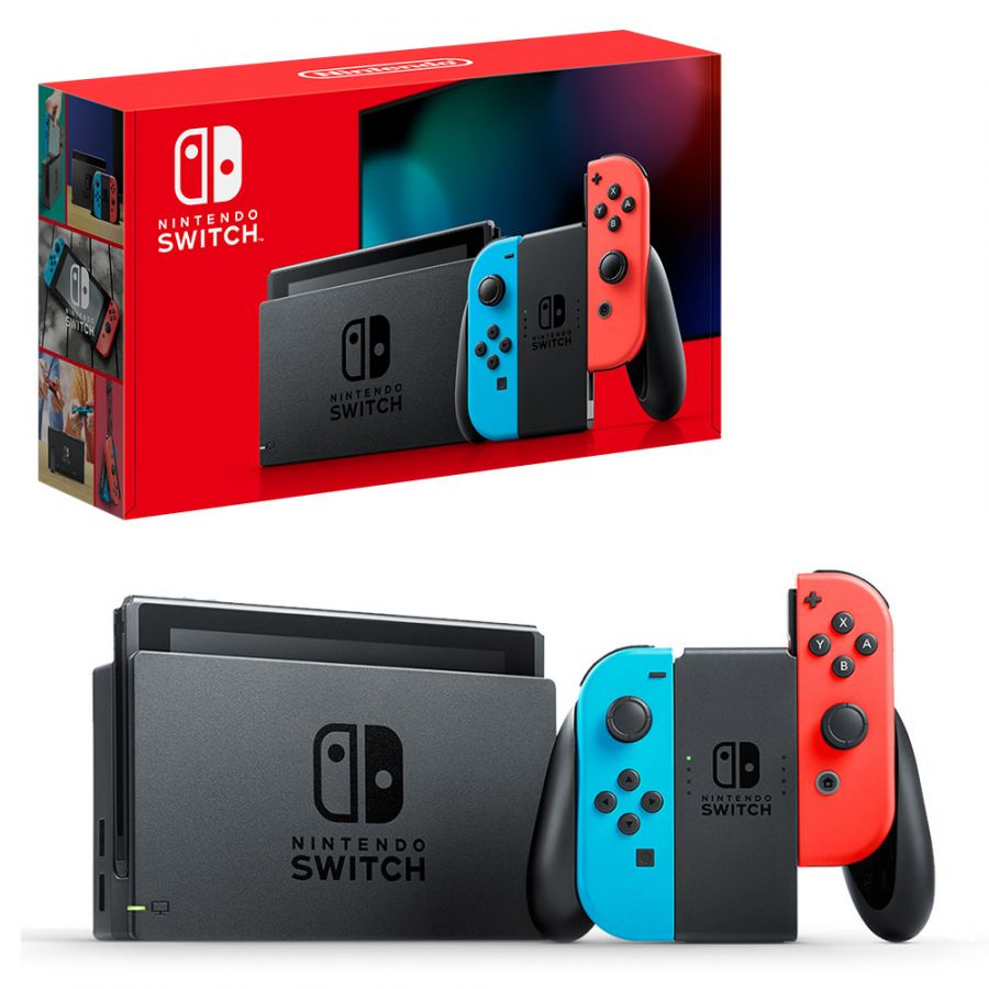 Nintendo Switch красно-синий