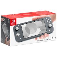 Nintendo Switch Lite серый