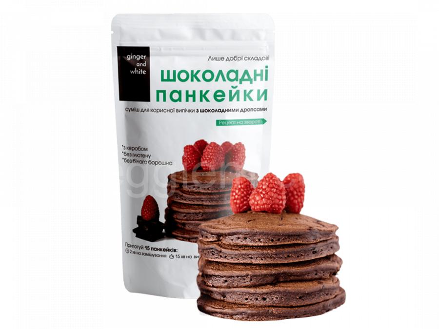 Смесь для выпечки Шоколадные панкейки,350 грамм