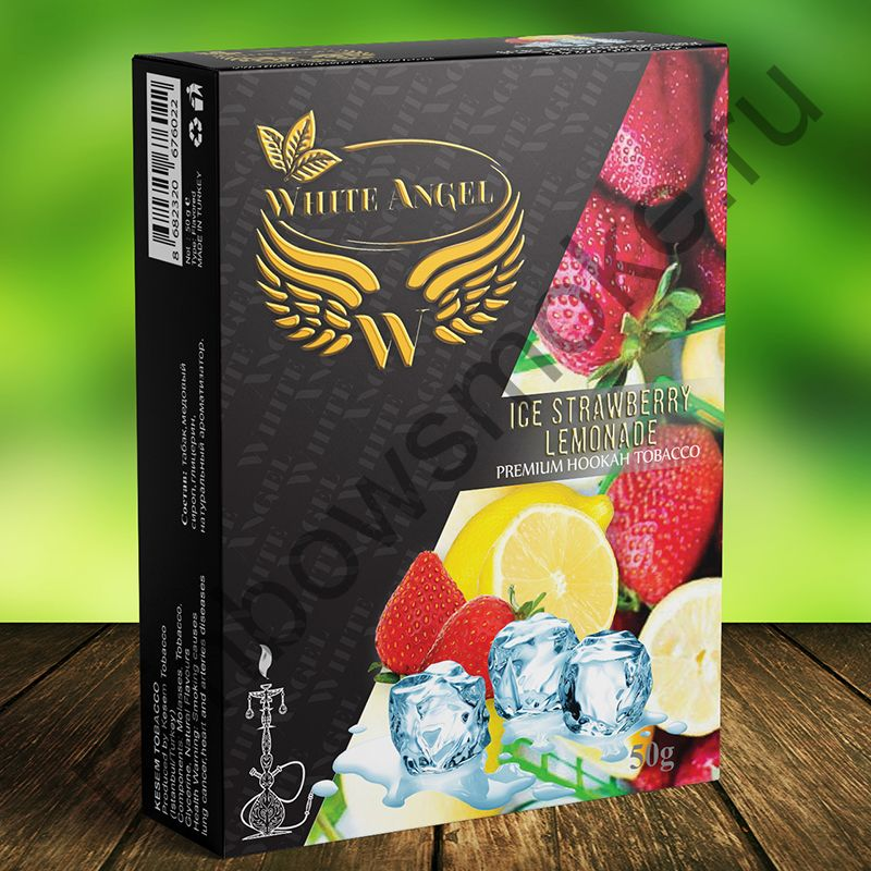 White Angel 50 гр - Ice Strawberry Lemonade (Ледяной Клубничный Лимонад)