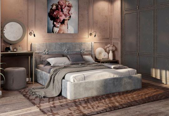"""Мягкая кровать """"Джулия"""""""