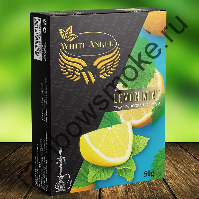 White Angel 50 гр - Lemon Mint (Лимон Мята)