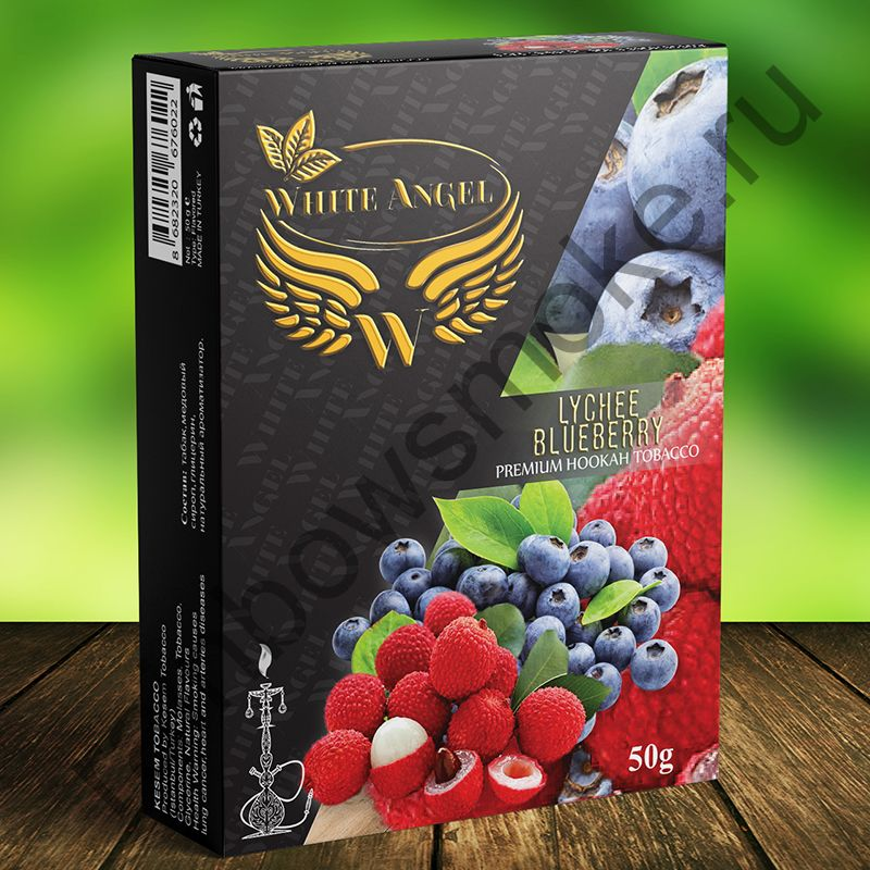 White Angel 50 гр -  Lychee Blueberry (Личи Черника)