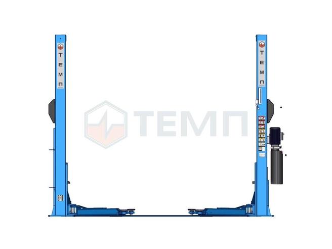 Подъемник Двухстоечный ТЕМП TD4000 220V C и TD4000 380V  C 4т.