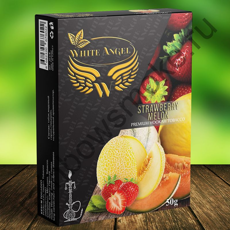White Angel 50 гр - Strawberry Melon (Клубника Дыня)