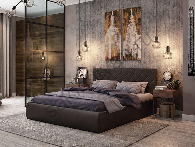 """Мягкая кровать """"Ника"""""""