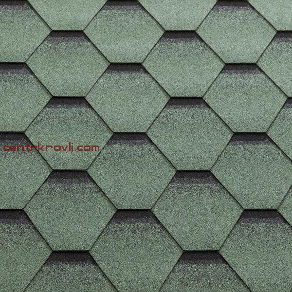 Гибкая черепица Katepal/Katrilli/Зелень моховая
