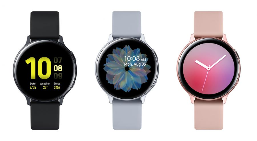 Часы Samsung Galaxy Watch Active2 алюминий 40mm