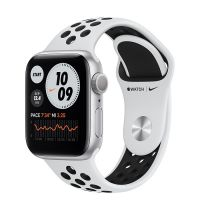 Часы Apple Watch Series 6 GPS 44mm Aluminum Case with Nike Sport Band