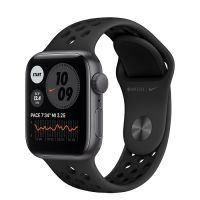 Часы Apple Watch SE GPS 44mm Aluminum Case with Nike Sport Band