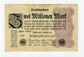 Германия 2 000 000 марок 1923 VF