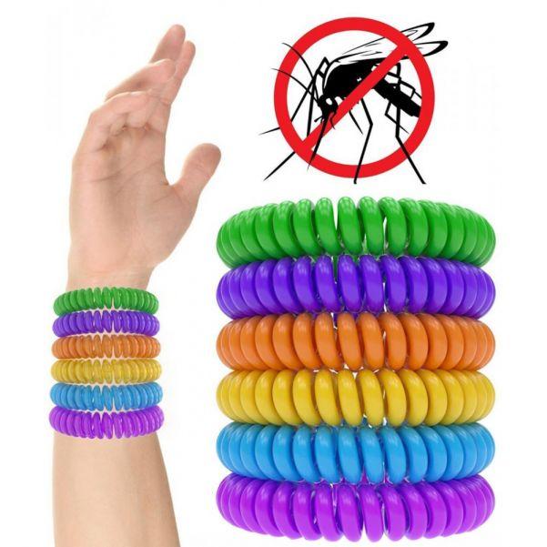 Силиконовый браслет от комаров