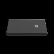 Душевой поддон BAS Essentia 120x90, черный