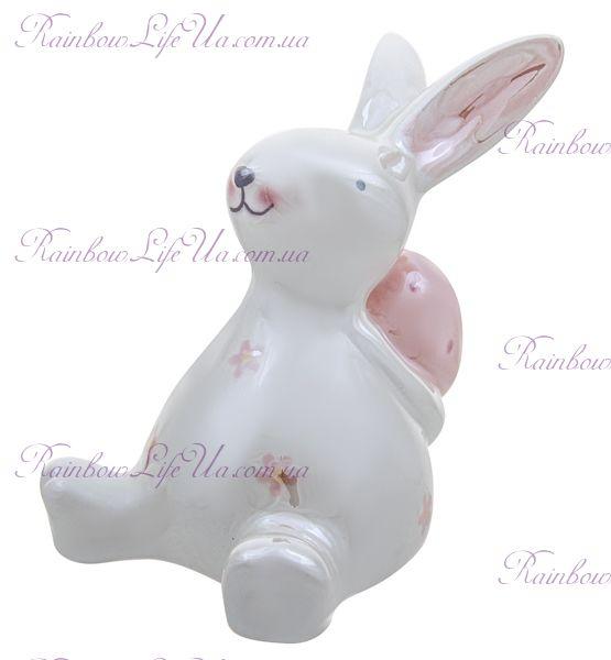 """Фигура """"Пасхальный кролик с яйцом"""""""