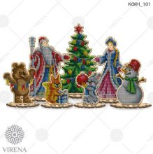 КФІН_101 Virena. Комплект фигурок из дерева для вышивки бисером (набор 3225 рублей)