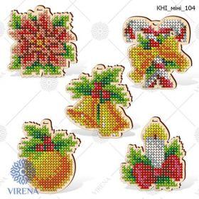 КНІ_МІНІ_104 Virena. Комплект фигурок из дерева для вышивки бисером (набор 1050 рублей)