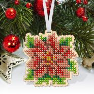 Virena КНІ_МІНІ_104 Комплект фигурок новогодних из дерева для вышивки бисером купить оптом в магазине Золотая Игла