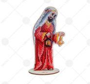 Virena ВЕРТЕП_100 Комплект фигурок новогодних из дерева для вышивки бисером купить оптом в магазине Золотая Игла