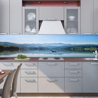 Наклейка на фартук кухни - Лох-Несс | интерьерные наклейки