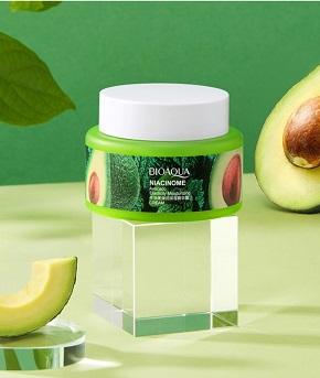 Увлажняющий крем с экстрактом авокадо и дрожжевыми пептидами от «BIOAQUA».(45503)
