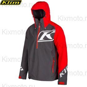 Куртка Klim Powerxross Pullover, Красно-серая мод.2021