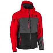 Куртка Fly Carbon, Красно-черно-серая мод.2021