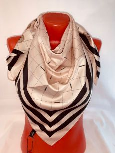 Шелковый платок Chanel арт 124