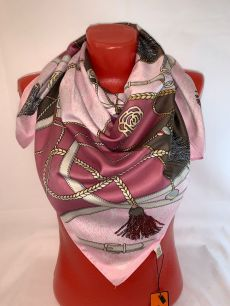 Шелковый платок Hermes арт 130