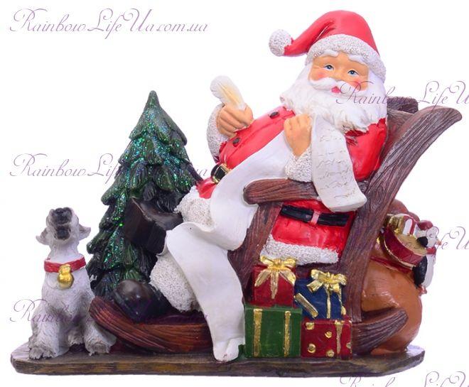 "Фигурка новогодняя ""Санта с желаниями"""
