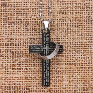 Кулон - амулет Крест с кольцом