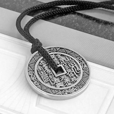 Кулон со шнурком Счастливая монета