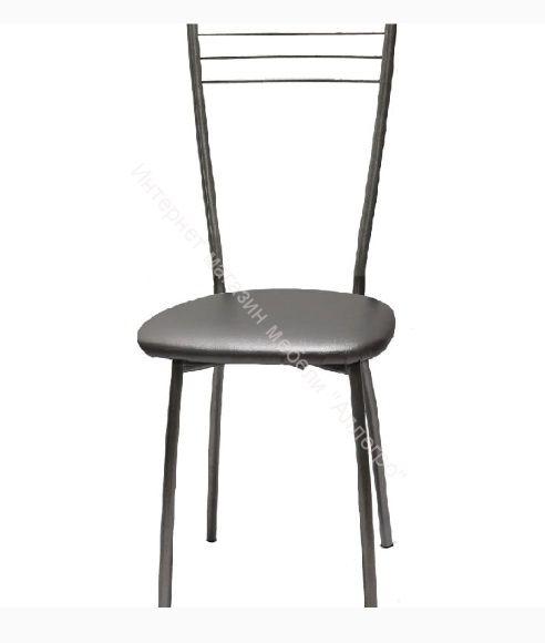 """Кухонный стул """"Сильвия"""" металлик/серебристый металлик"""