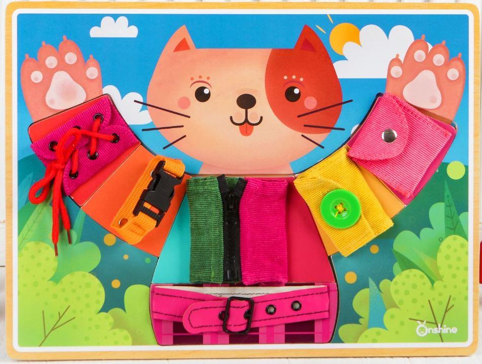 Бизиборд «Котёнок»